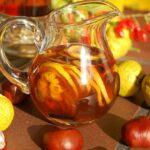 Pigwa w syropie korzennym do herbaty