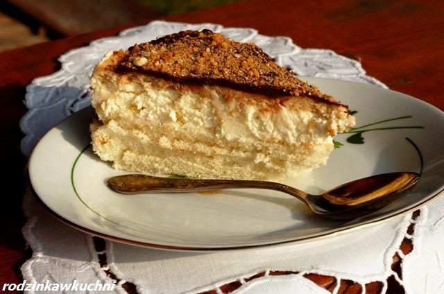 ciasto pijak_torcik z kremem budyniowym_torcik z alkoholem_torcik na biszkopcie