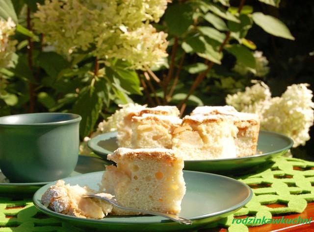 placek z antonówkami_jabłecznik_ciasto owocowe_ciasto na oleju