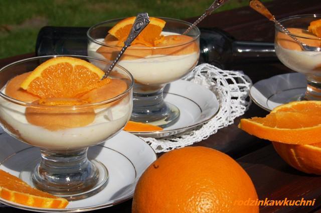 Pomarańczowe tiramisu_desery na lato_kuchnia włoska