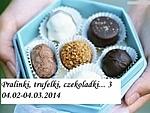 akcja_pralinki, trufelki, czekoladki_śliwki w czekoladzie nadziewane marcepanem