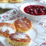 Placuszki serowe na słodko lub słono