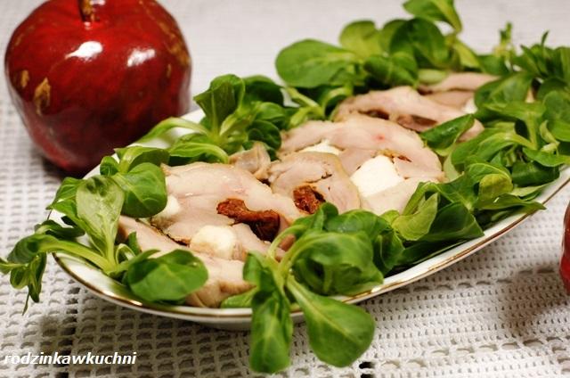 roladki z indyka z suszonymi pomidorami_roladki z drobiu_danie dietetyczne_danie świąteczne