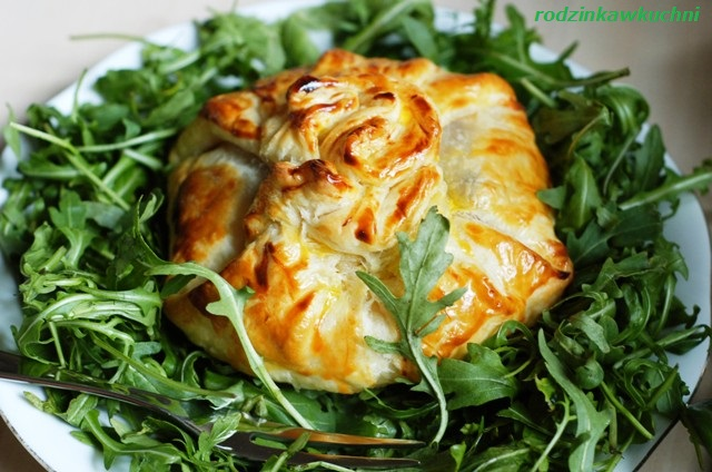 camembert w cieście francuskim_ser w cieście_camembert z żurawiną w cieście francuskim_przekąski karnawałowe