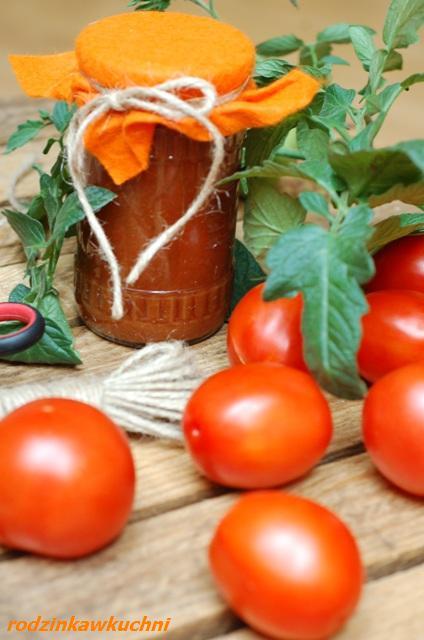 sos polski pomidorowy_przetwory warzywne_domowy wyrób