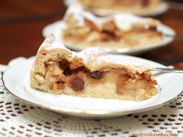 szarlotka Ewy Wachowicz_jabłecznik_ciasto z jabłkami_ciasto z owocami_zimowe przepisy