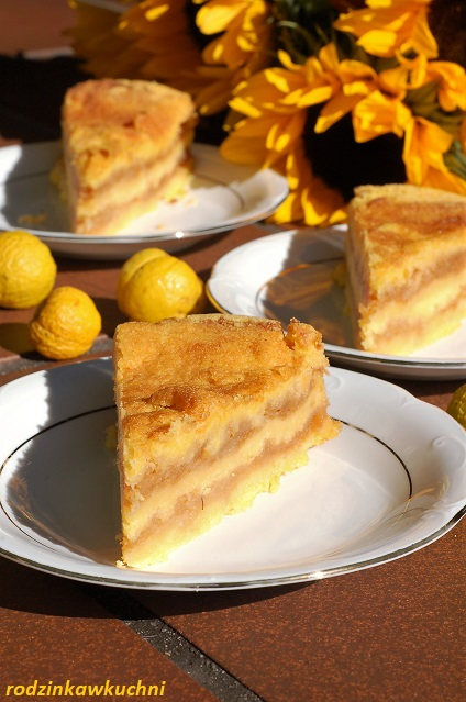 jabłecznik sypany kukurydziany_szarlotka sypana_ciasto z jabłkami_ciasto bezglutenowe