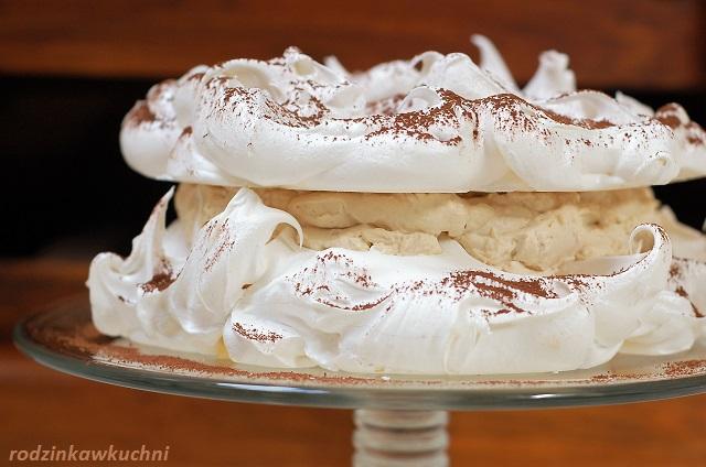 tort bezowy tiramisu_tort błyskawiczny_tort z kremem mascarpone_tort z kawą