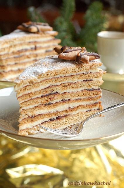 tort miodowa stefanka_tort wielowarstwowy_tort miodowy_tort z kremem z kaszy manny_tort urodzinowy