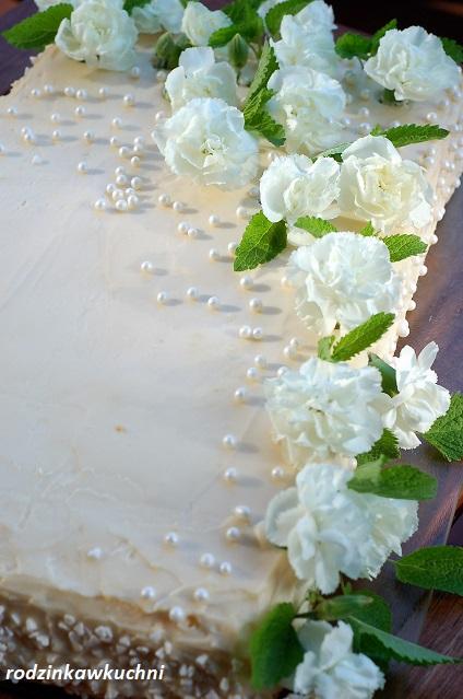 tort pina colada_tort kokosowo-ananasowy_tort na specjalne okazje_tort komunijny