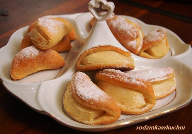 usteczka_ciastka z jabłkami_ciastka półfrancuskie_ciastka z owocami