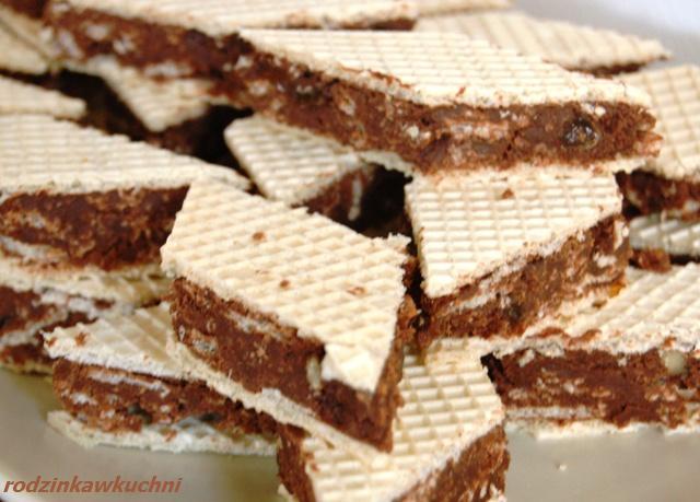 Wafelki, czyli specjał w waflu_wafelki czekoladowe_blok w waflu_dania dla dziecii