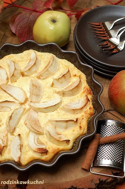zapiekanka serowo-jaglana z jabłkami_zpiekanka z kaszą jaglaną_zapiekanka serowa_słodki obiad