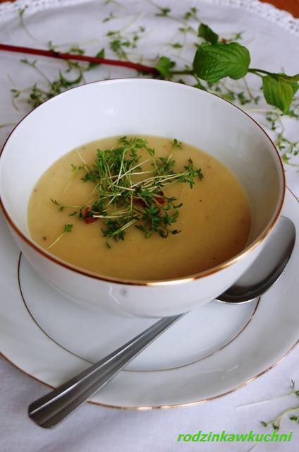 zupa chrzanowa_zupa krem_Wielkanoc_danie wegetariańskie
