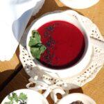 Zupa krem z buraków i pomidorów