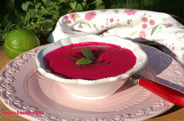zupa krem z buraków z mleczkiem kokosowym_zupa wegańska_zupa aksamitna_zupa z mleczkiem kokosowym