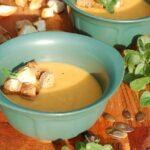 Zupa krem z soczewicy i pomidorów