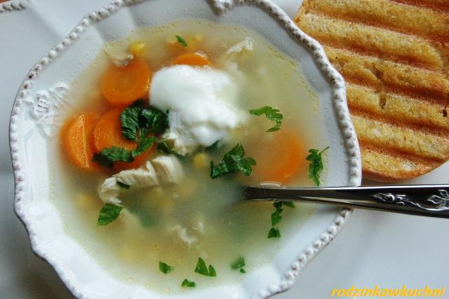 zupa kukurydziana_dania z drobiu_dania jednogarnkowe
