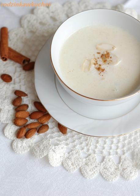 zupa migdałowa_zupa mleczna_Boże Narodzenie