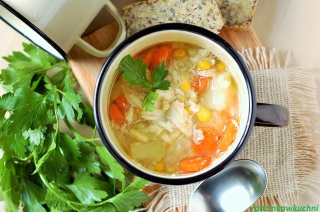zupa pstrągowa_zupa rybna_lekkie dania