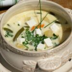 Zupa z fasolką szparagową i fetą