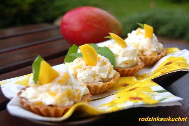 kruche babeczki z mango_finger food_ciasto z owocami