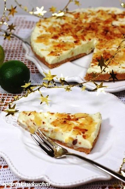 CiastoHemingwaya_tarta limonkowa_placek limonkowy_ciasto bez pieczenia