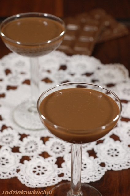 likier czekoladowy_domowy alkohol_krem czekoladowy