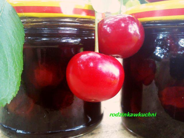 wiśnie w occie_przetwory owocowe_marynaty słodko-kwaśne_letnie owoce